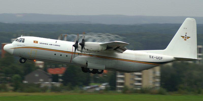 Uganda Air Cargo Hercules 130
